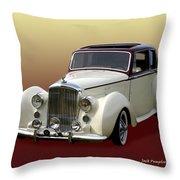1947 Bentley M K  5   G T X  Throw Pillow