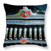 1947 Buick Sedanette Grille Throw Pillow