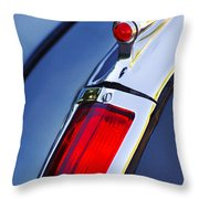 1947 Cadillac Model 62 Coupe Taillight  Throw Pillow