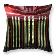 1947 Farm Truck Throw Pillow