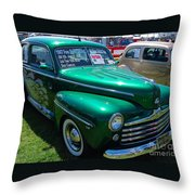 1947 Ford Super Deluxe Throw Pillow