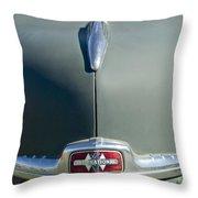 1947 International Hood Emblem Throw Pillow