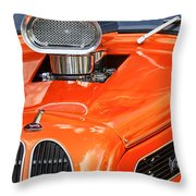 1948 Anglia Engine -522c Throw Pillow