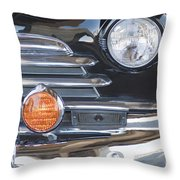 1948 Chevrolet Grille Fleetmaster Throw Pillow
