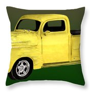 1948 Custom Ford Pick Up Throw Pillow