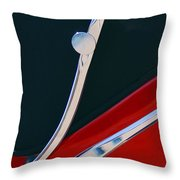 1948 Jaguar 2.5 Litre Drophead Coupe Throw Pillow