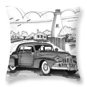1948 Lincoln Continental Throw Pillow