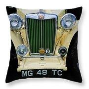 1948 Mgtc Throw Pillow