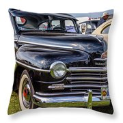 1948 Plymouth Special Deluxe Coupe  Throw Pillow