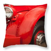 1949 Diamond T Truck Front End Throw Pillow