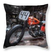 1949 Harley Davidson Throw Pillow