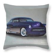 1949 Mercury Throw Pillow