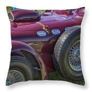 1950 Allard J2 Competition Roadster Throw Pillow
