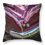 1950 Chevrolet Tailights And Bumper Throw Pillow