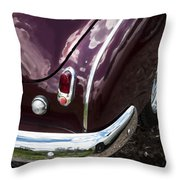 1950 Chevrolet Taillight And Bumper Throw Pillow