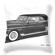 1950 Chrysler Newport Throw Pillow