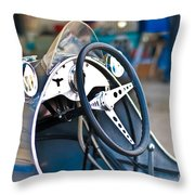 1950 Cooper Mkiv Throw Pillow