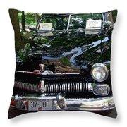1950 Crysler Mercury Throw Pillow