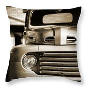 1950 Ford F-100 Throw Pillow