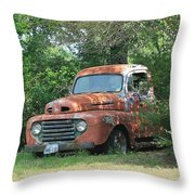 1950 Ford F100 Throw Pillow
