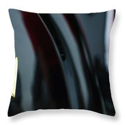 1950 Lincoln Cosmopolitan Henney Limousine Rear Emblem Throw Pillow