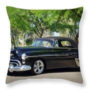 1950 Oldsmobile 88 -004c Throw Pillow