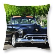 1950 Oldsmobile 88 -105c Throw Pillow