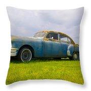 1950 Pontiac Chieftan Throw Pillow
