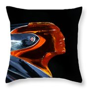1950 Pontiac Throw Pillow