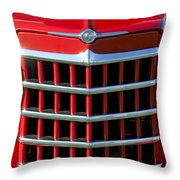 1950 Willys Jeepster Gtille Throw Pillow