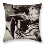 1950s Cadillac No. 1 Throw Pillow