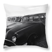 1950's Pontiac By Cathy Anderson  Throw Pillow