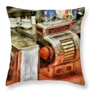 1950's - The Greasy Spoon Throw Pillow
