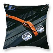 1951 Allard J2 Competition Roadster Throw Pillow