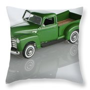 1951 Chevy Pick-up Throw Pillow
