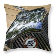 1951 Riley Throw Pillow