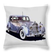 1952 Bentley M K Four Throw Pillow