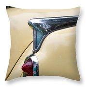 1952 Buick Eight Tail Light Throw Pillow