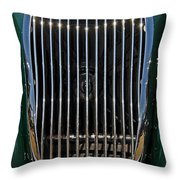 1952 Jag Xk120 Throw Pillow