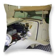1952 Mg Roadster Throw Pillow
