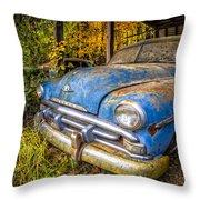 1952 Plymouth Throw Pillow