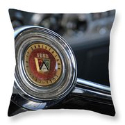 1953 50th Anniversary Ford Throw Pillow