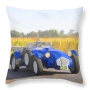 1953 Allard J2x Roadster Throw Pillow