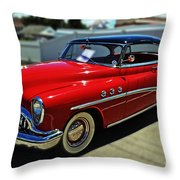 1953 Buick Throw Pillow