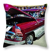 1953 Chevy Belair Throw Pillow