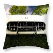 1954 Corvette Stingray Throw Pillow