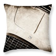 1953 Ferrari 212 Vignale Coupe -0691s Throw Pillow