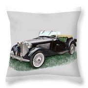 Mg T D 1953 Throw Pillow