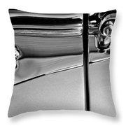 1953 Packard Caribbean Convertible Emblemblem Throw Pillow