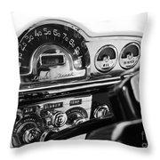 1953 Pontiac Silver Streak Throw Pillow
